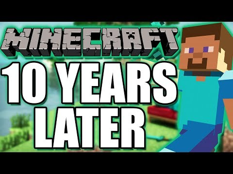 Minecraft 10 Years Later - Is it still worth playing? (2009-2019)