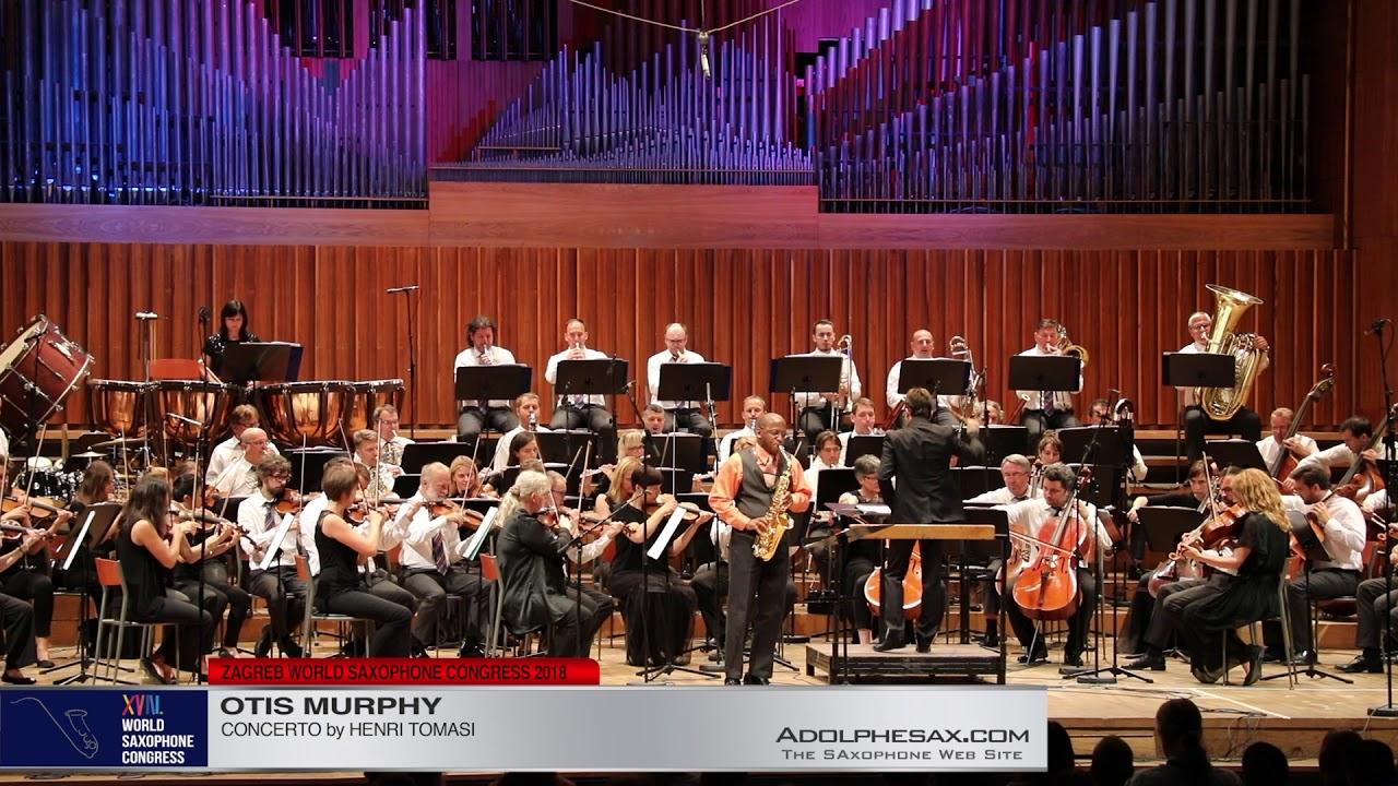 Concerto by Henri Tomasi   Otis Murphy  XVIII World Sax Congress 2018 #adolphesax