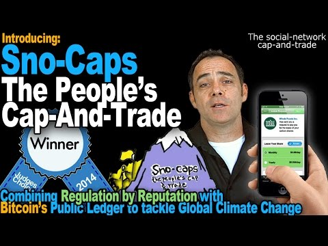 Introducing Sno-Caps - The People's Cap-And-Trade (2014 MIT Award Winner)
