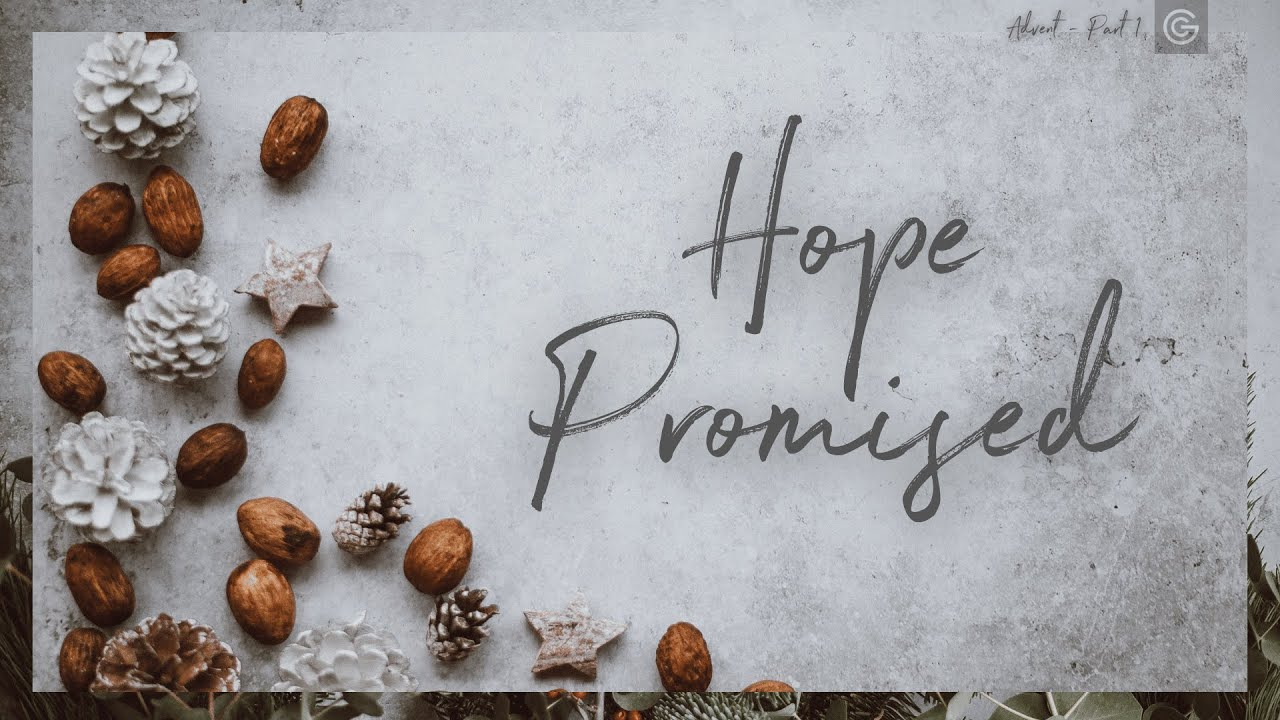 """Hope Promised"" with Sam Kendell 