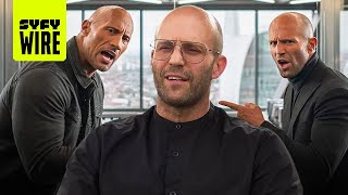 Hobbs and shaw has some crazy stunts, but we're more interesting in how dwayne jason took on their bionic foe. we also grabbed vanessa kirby david le...