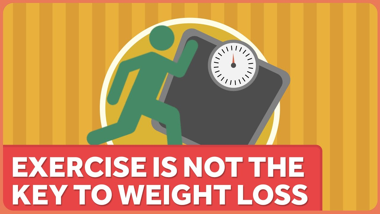 Exercise is NOT the Key to Weight Loss - YouTube