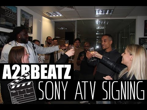 A2RBEATZ SIGNS TO SONY ATV ! (PUBLISHING DEAL)