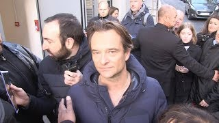David Hallyday at RTL radio station in Paris