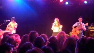 Kait Weston performing at The Roxy Theatre