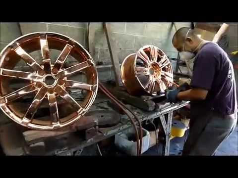 Chrome Plating USA and Metal Polishing - Wheels Motorcycle Auto Parts
