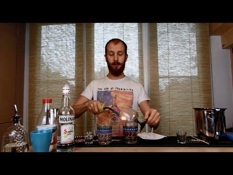 Как приготовить самбуку в домашних условиях