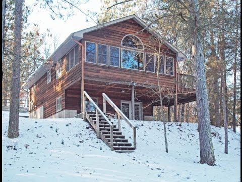 Sold gilmore lake northwoods cabin minong wi relax for Fishing cabins in wisconsin