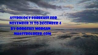 Weekly Astrology Forecast Nov 28 to Dec 4  2016 by Dorothy Morgan