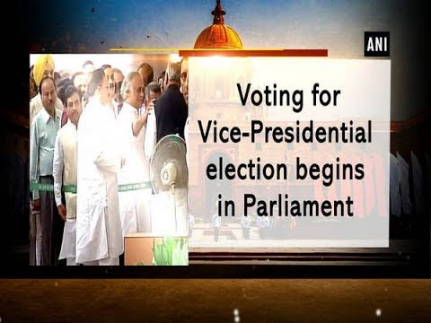 Voting for Vice-Presidential election begins in Parliament - Delhi News