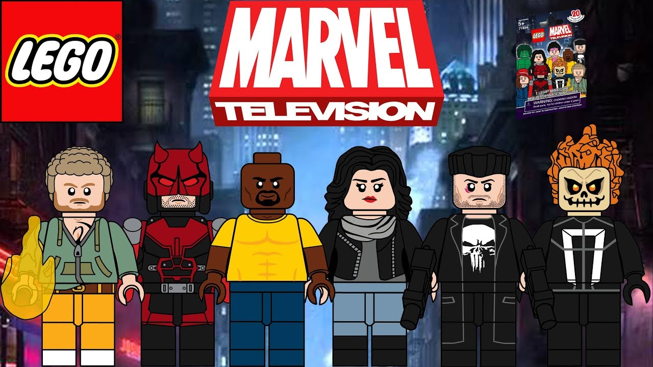 Lego Marvel Tv Shows Moc Minifigure Series Defenders