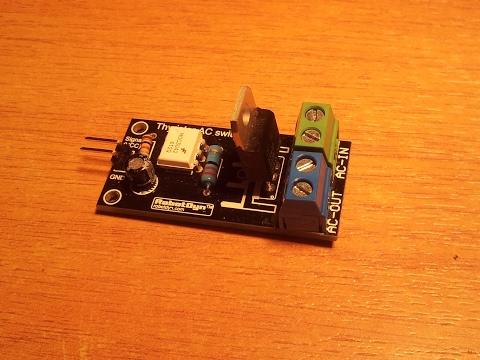 Thyristor AC Switch Module 5a. Альтернатива твердотельникам Omron