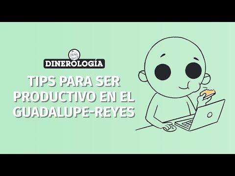 Tips para ser productivo en el maratón Guadalupe-Reyes