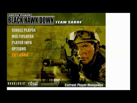 how to download DELTA FORCE BLACK HAWK DOWN TEAM SABRE for free