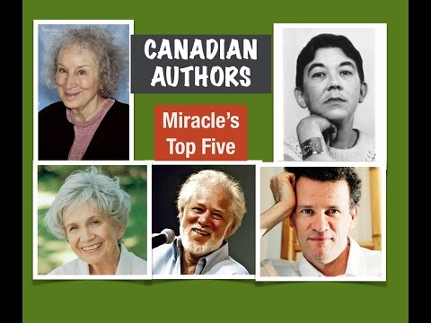 Miracle's Top Five : CANADIAN AUTHORS