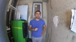 Как топить твердотопливный котел Lavoro Eco L(Мы показали как зажигать и пользоваться котлом долгого горения Lavoro eco L консультация и подбор котлов в Крым..., 2016-09-26T15:11:08.000Z)