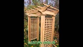 Garden Arbors From New England Woodworks