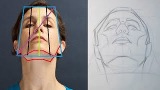 Head Proportions Part 4 - Extreme Angles and Perspective