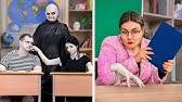 Die Addams Family Gehen Zur Schule! / 9 DIY Addams Family Schulsachen