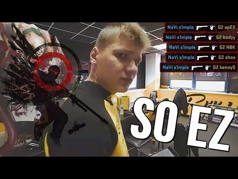 How S1mple Really Plays CS:GO