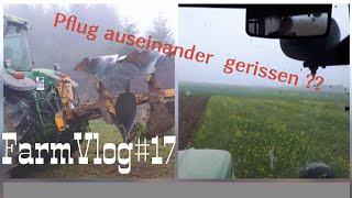 FarmVlog #17 Den Pflug auseinander gerissen ??| Fast alle Maschinen eingewintert