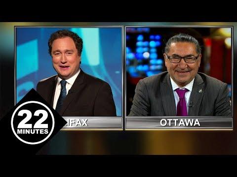 Saganash gives Trudeau an 'F'  | 22 Minutes