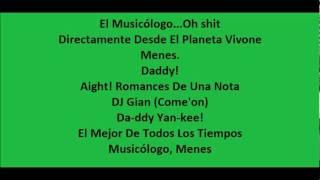 Bailando fue con letra - Daddy Yankee Ft. Jowell & Randy