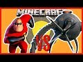 Minecraft - MR INCREDIBLE VS THE INCREDIBLE'S OMNIDROID (CAN HE ALSO TAKE ON THE MYTHICAL CREATURES)