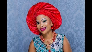 HOW TO TIE FAN GELE  2018