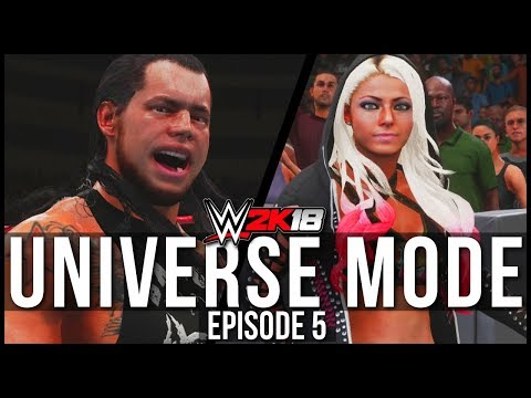 WWE 2K18 | Universe Mode - 'CORBIN QUITS?!' | #05