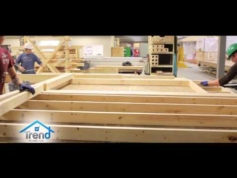 Trend Homes Edmonton Alberta Canada with owner Pierre Sareault