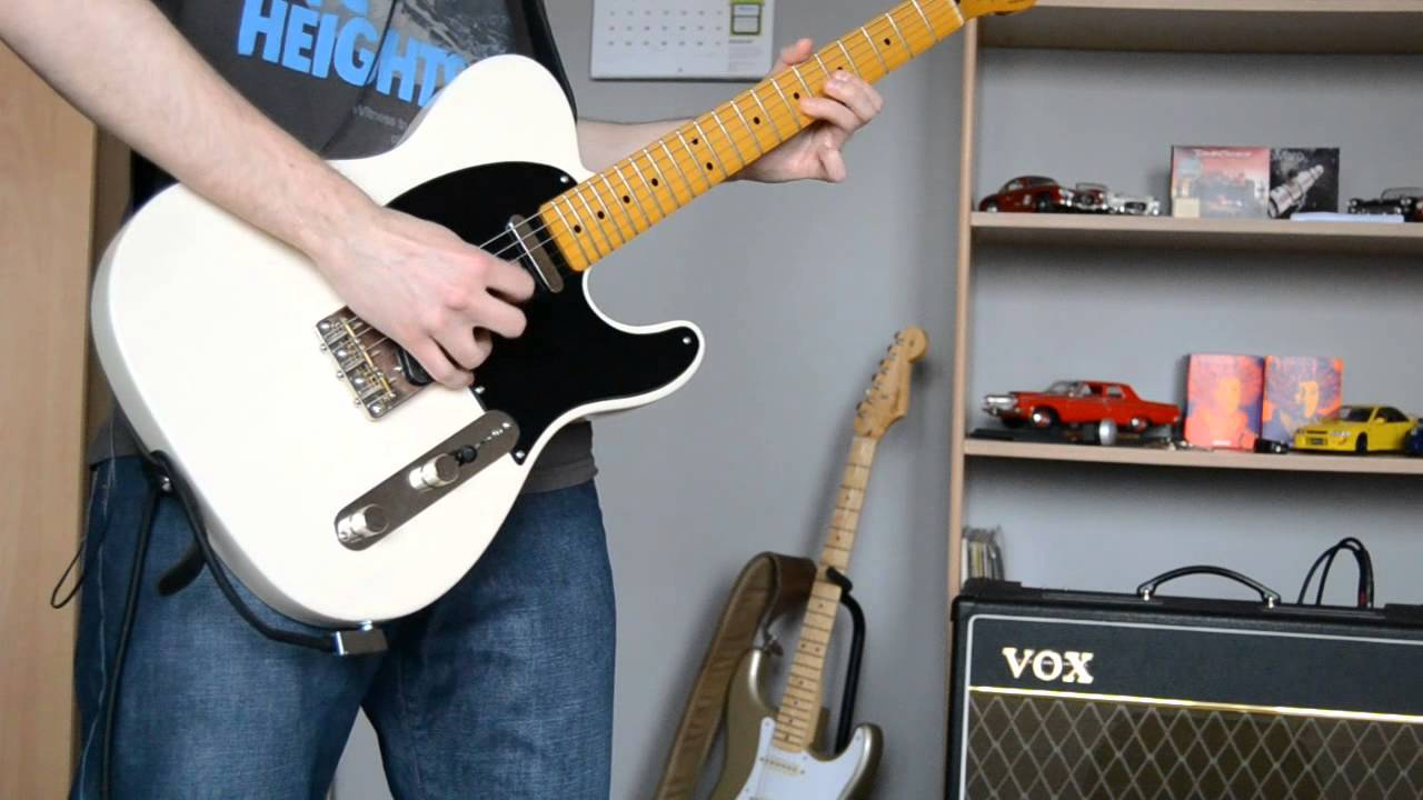 Led Zeppelin - Stairway To Heaven solo cover | VOX AC15 + Squier Classic  Vibe 50's Telecaster