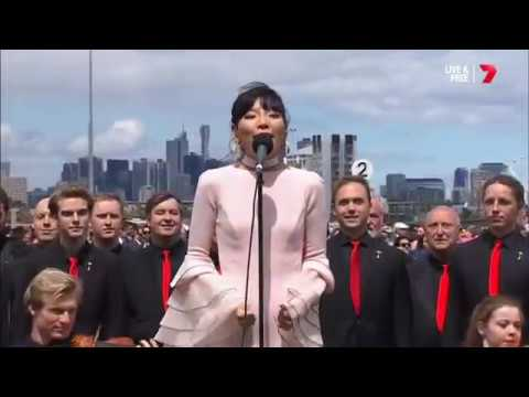 Dami Im - Australian National Anthem - Melbourne Cup 2016