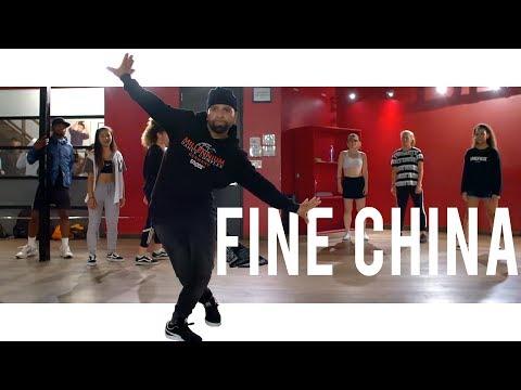 Chris Brown  Fine China  Class With Hamza