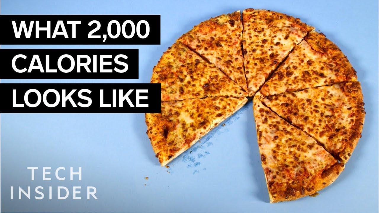 Колкава количина од омилените јадења изнесува 2.000 калории?