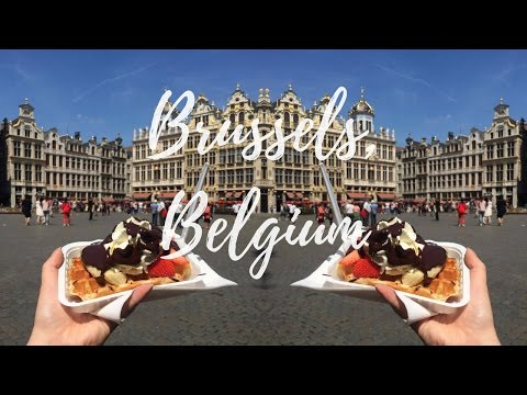 Travel: BRUSSELS, BELGIUM / Waffles, Beer, and Chocolate!