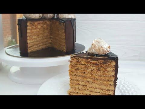 ШИКАРНЫЙ ТОРТ ГРЕЦКИЙ ОРЕХ КОФЕ КАРАМЕЛЬ☕ОЧЕНЬ ВКУСНЫЙ РЕЦЕПТ☕Walnuts.coffee.caramel Cake