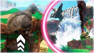 ¡¡ SALTOS BRUTALES CON EL T-REX !! - Super Mario Odyssey, Gameplay Español#18 - [WithZack]