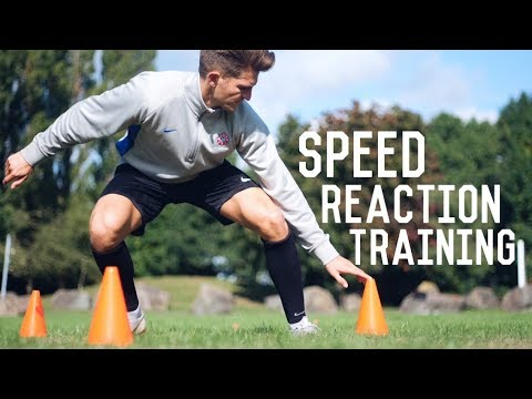 Individual Speed Reaction Training Session | 3 Football Trai
