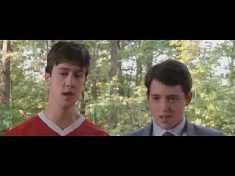 Ferris Buellers´s Day Off  escena del ferrari subtitulado al español