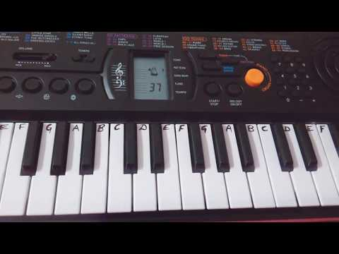 Ambe Tu Hai Jagdambe Kaali On  Keyboard Tutorial  Beginners  Durga Aarti
