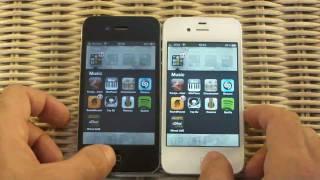 iPhone 4S ve iPhone 4 Hız karşılaştırması