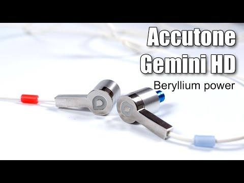 Review of Accutone Gemini HD IEMs