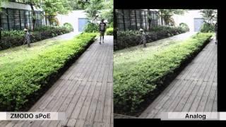 Comparison of Zmodo sPoE 720p HD IP Camera vs. Traditional Analog Camera