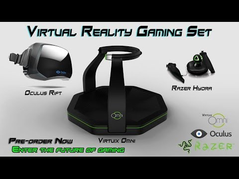 Virtual Reality Gaming Set Ft. Oculus Rift, Virtuix Omni, Razer Hydra