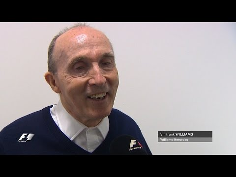 Sir Frank Williams turns 73 - 'I've Got The Best Job In The World'
