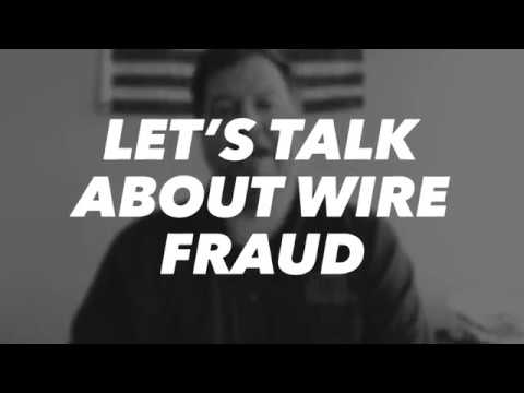 Let's Talk About Wire Fraud - February VLOG