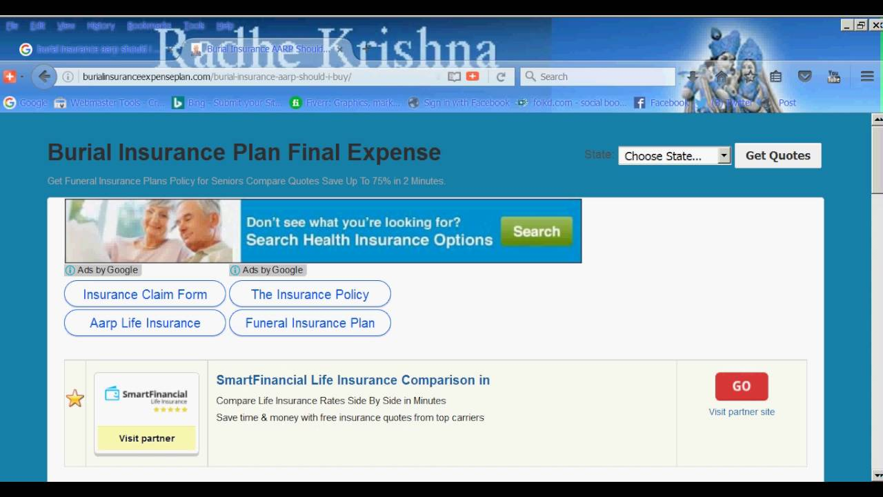 Aarp Health Insurance Quotes Burial Insurance Aarp Should I Buy  Youtube