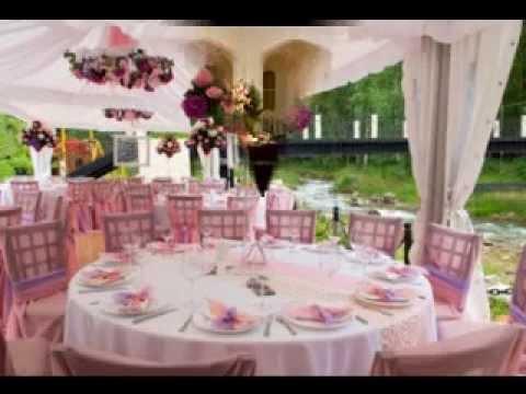 Simple Wedding Receptions Decorating Ideas Youtube