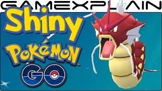 Shiny Magikarp & Gyarados Now Catchable in Pokémon Go!